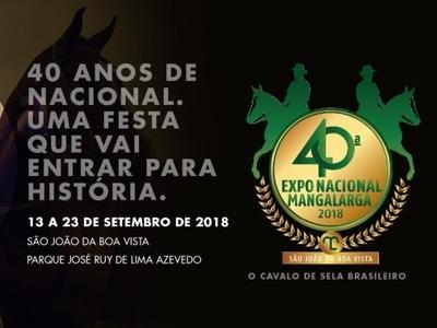 40ª Exposição Nacional Mangalarga