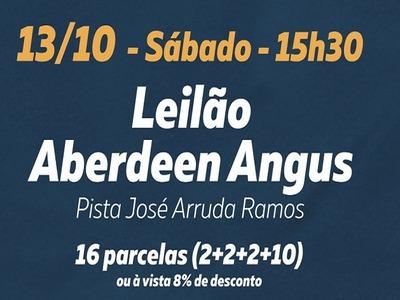Leilão Aberdeen Angus