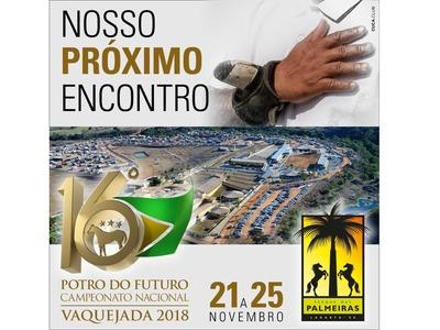 Décimo Sexto Potro do Futuro e Campeonato Nacional de Vaquejada ABQM 2018