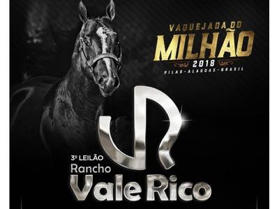3º Leilão Rancho Vale Rico