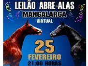 Leilão Virtual Abre-Alas Mangalarga
