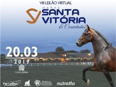 VIII Leilão Virtual Haras Santa Vitória e Convidados